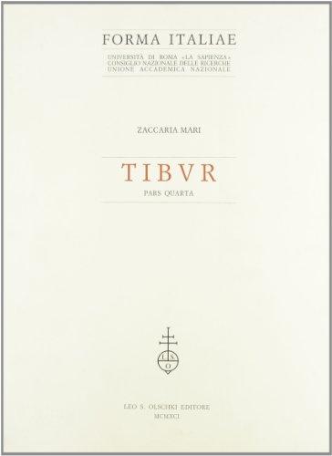9788822239099: Tibur (Vol. 4)