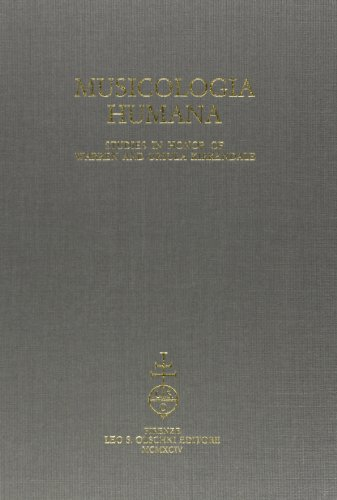 MUSICOLOGIA HUMANA. Studies in honor of Warren and Ursula Kirkendale.: GMEINWIESER S. / HILEY D. / ...
