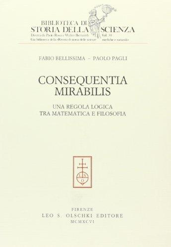 Consequentia mirabilis: Una regola logica tra matematica: Bellissima, Fabio