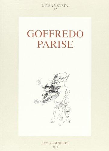 9788822244789: Goffredo Parise. Atti del Convegno (Venezia, 24-25 maggio 1995)