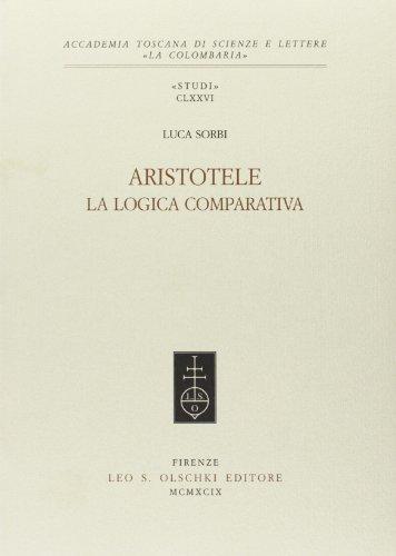 ARISTOTELE. Vol.I: La logica comparativa. Vol.II: La distribuzione del bene negli enti. 1999-2002.:...