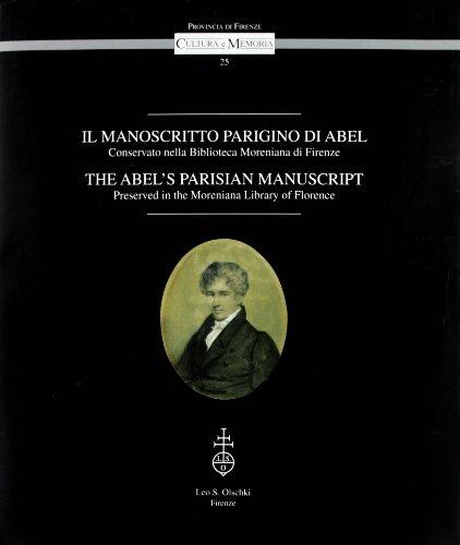 Manoscritto (Il) parigino di Abel conservato nella: Collectif