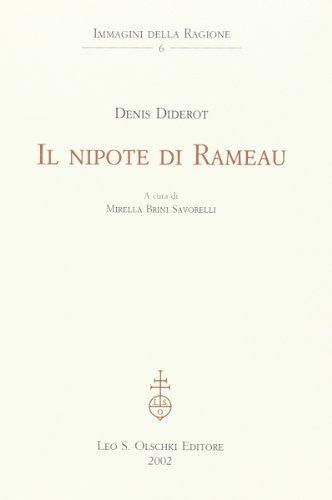 Il nipote di Rameau.: Diderot, Denis