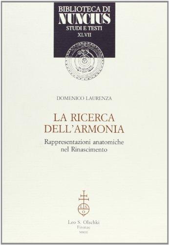 9788822252661: LA RICERCA DELL'ARMONIA