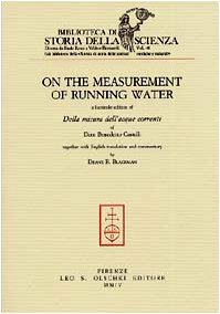 On the measurement of running water. A: Castelli,Benedetto.