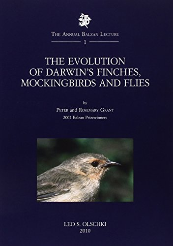 The Evolution of Darwin's Finches, Mockingbirds and Flies. 2005 Balzan Prizewinners: n/a