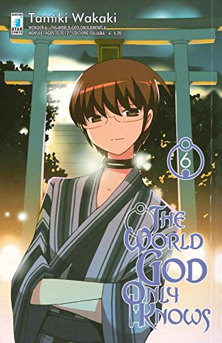 9788822602749: The world god only knows: 6 (Wonder)