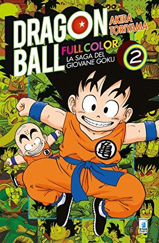 9788822609014: La saga del giovane Goku. Dragon Ball full color: 2