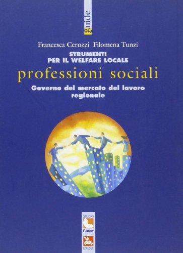 9788823005129: Strumenti per il welfare locale. Professioni sociali