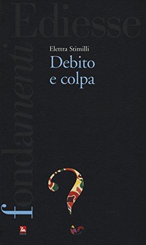 9788823019560: Debito e colpa