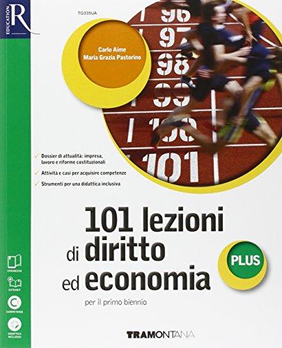 9788823349179: 101 lezioni di diritto ed economia plus. Extrakit-Openbook. Per le Scuole superiori. Con e-book. Con espansione online