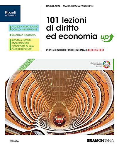 9788823356160: 101 lezioni di diritto ed economia. Corso di diritto ed economia. Per gli Ist. professionali alberghieri. Con e-book. Con espansione online