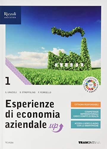 9788823366367: Esperienze di economia aziendale up. Con quaderno di didattica inclusiva. Per le Scuole superiori. Con e-book. Con espansione online: 1