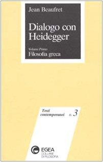 9788823801530: Dialogo con Heidegger: 1 (Testi contemporanei)