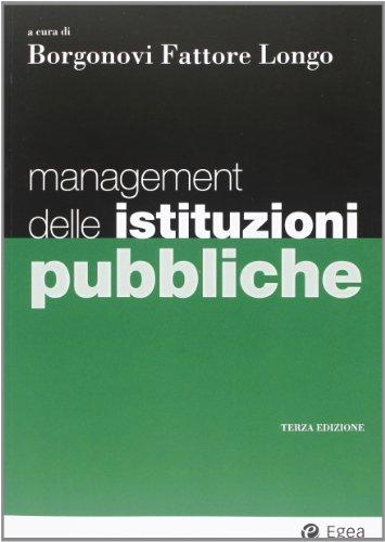 9788823821682: Management delle istituzioni pubbliche