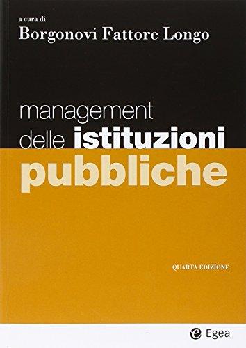 9788823822030: Management delle istituzioni pubbliche
