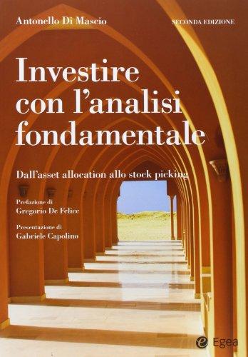 9788823833975: Investire con l'analisi fondamentale. Dall'asset allocation allo stock picking