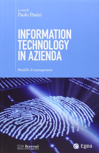 9788823834026: Information technology in azienda. Modelli di management
