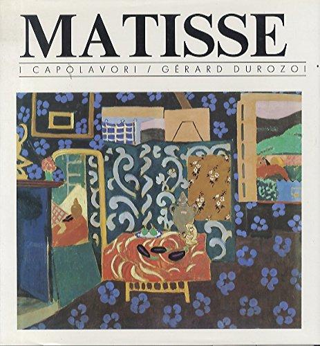 9788823901100: Matisse