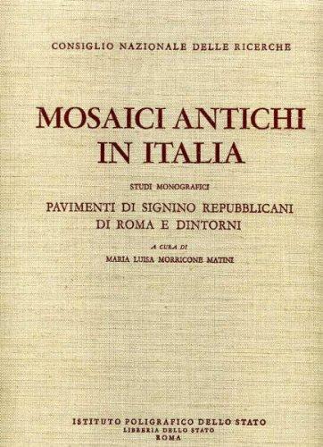 9788824031950: Pavimenti di Signino repubblicani di Roma e dintorni
