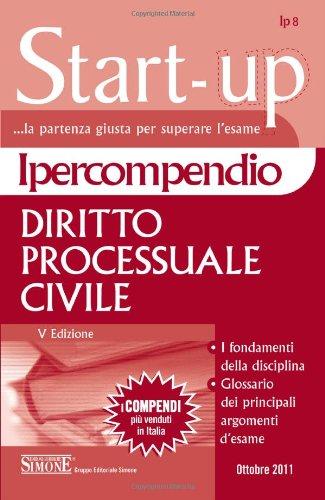 9788824431057: Ipercompendio diritto processuale civile