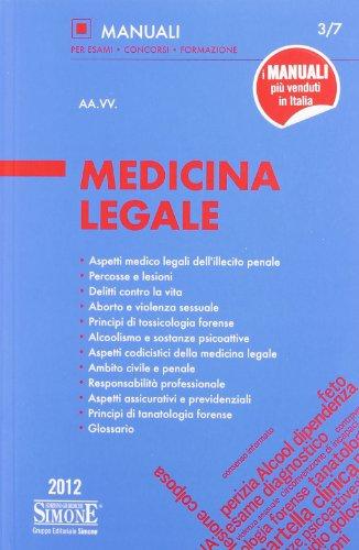 9788824435215: Medicina legale
