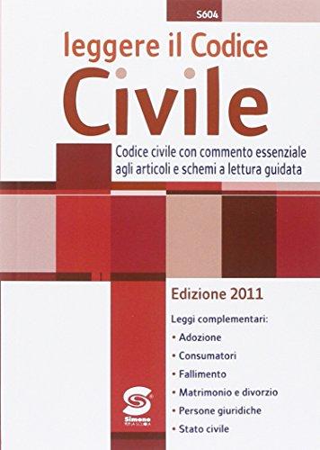 9788824459020: Leggere il codice civile (edizione 2011)