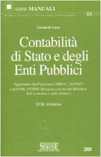 9788824462334: Contabilità di Stato e degli enti pubblici