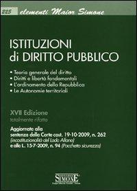 Istituzioni di diritto pubblico: Istituzioni di diritto