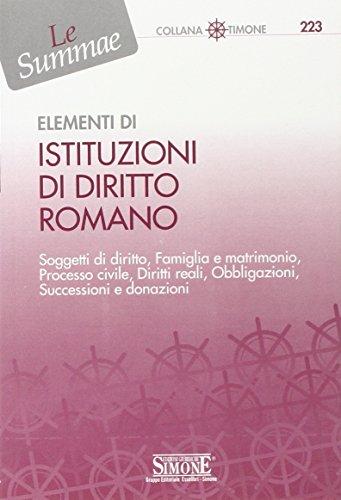 Elementi di Istituzioni di Diritto Romano (Il: Del Giudice, F.