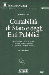 9788824471954: Contabilità di Stato e degli enti pubblici