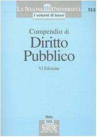 Compendio di diritto pubblico: Compendio di diritto