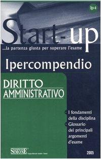 9788824483827: Ipercompendio diritto amministrativo