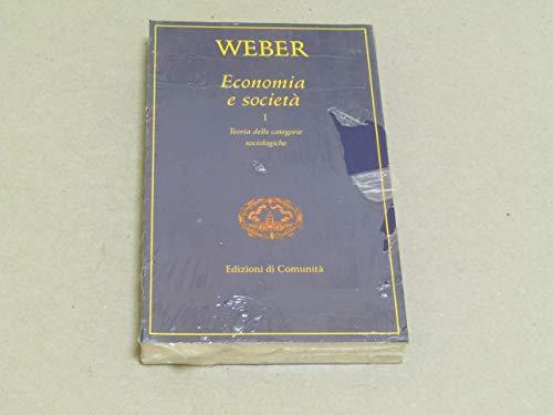 9788824505185: Economia e società: 1