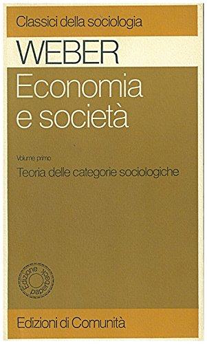9788824505611: Economia e società: 1