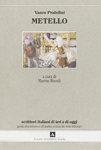 9788824710220: Metello (Scrittori italiani di ieri e di oggi)