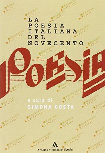 9788824711777: La poesia italiana del Novecento