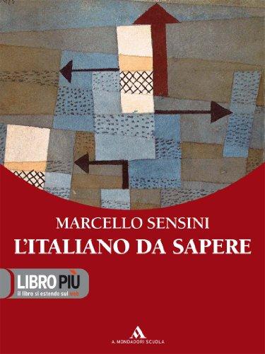 9788824729765: L'italiano da sapere. Per gli Ist. professionali. Con CD-ROM