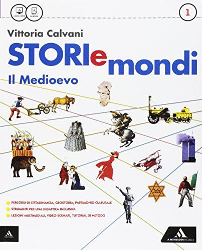 9788824744348: Storiemondi. Per la Scuola media. Con e-book. Con espansione online (Vol. 1)