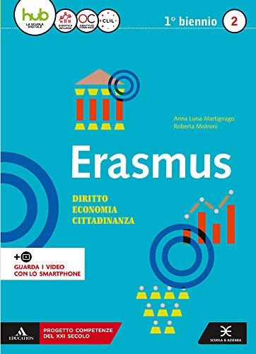 9788824781688: Erasmus. Diritto, economia, cittadinanza. Per gli Ist. tecnici e professionali. Con e-book. Con espansione online: 2