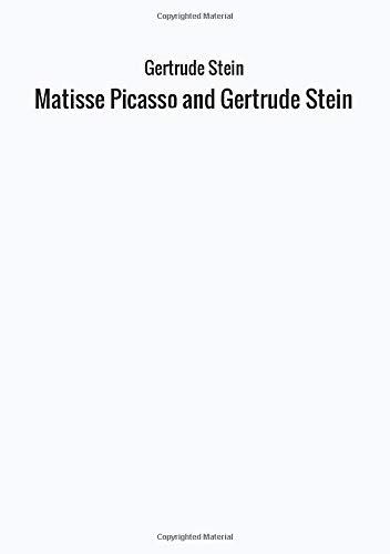 9788826433042: Matisse Picasso and Gertrude Stein