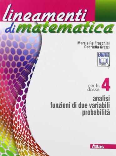 9788826817224: Lineamenti di matematica. Con espansione online. Per le Scuole superiori: 4