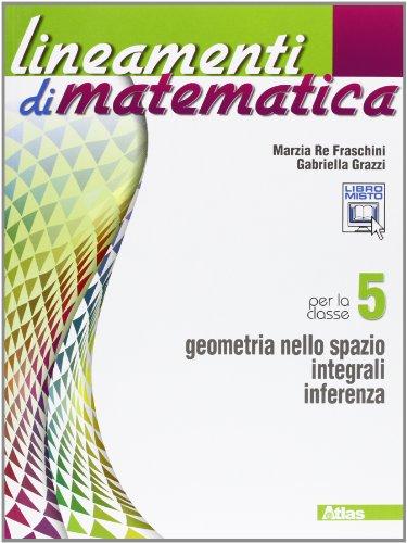 9788826817231: Lineamenti di matematica. Per le Scuole superiori. Con espansione online: 5