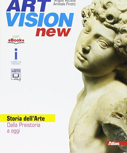 9788826818948: Art vision new. Storia dell'arte. Per la Scuola media. Con e-book. Con espansione online