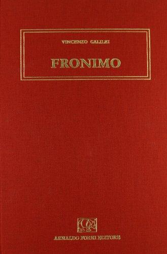 Il Fronimo: Galilei, Vincenzo