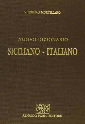 9788827106556: Nuovo dizionario siciliano-italiano (rist. anast. Palermo, 1876-81)