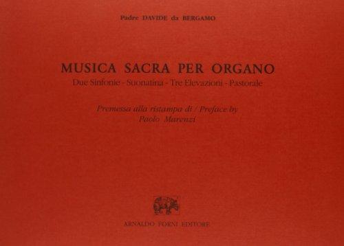 9788827113462: Musica sacra per organo (rist. anast.)