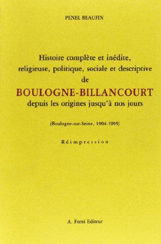 Histoire complète et inédite, religieuse, politique, sociale et descriptive de ...