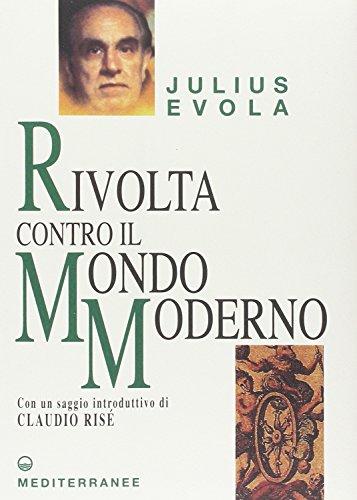9788827212240: JULIUS EVOLA - RIVOLTA CONTRO