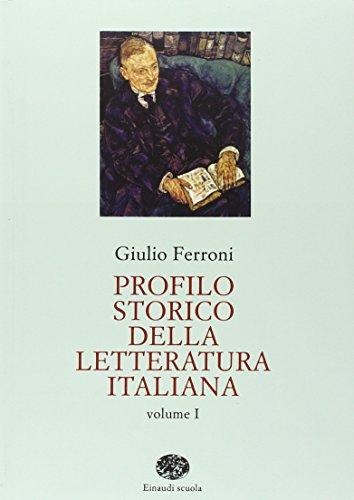 9788828603078: Profilo Storico Della Letteratura Italiana (Italian Edition)